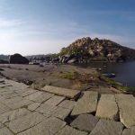 hampi part 4 achyutaraya temple chakratheertha riverside ruins 24