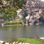 hampi part 4 achyutaraya temple chakratheertha riverside ruins 28