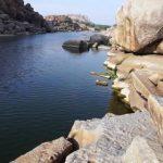 hampi part 4 achyutaraya temple chakratheertha riverside ruins 37