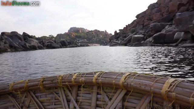 hampi part 4 achyutaraya temple chakratheertha riverside ruins 42