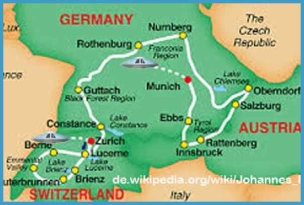 Map Of Germany Austria And Switzerland_0.jpg