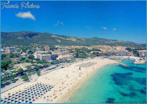 Palma Nova Majorca Spain Beach Resort