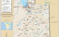 Detailed map of Utah 4