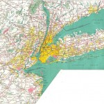 High-resolution large map of New York - download for print out