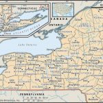 maps of new york map of new york county boundaries and county seats