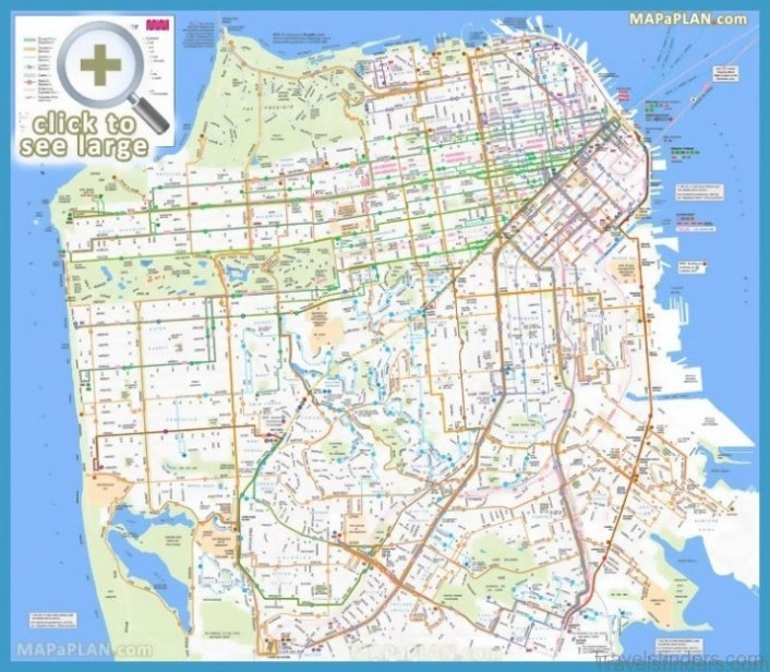 San Francisco Map Tourist Attractions Travelsfinders Com