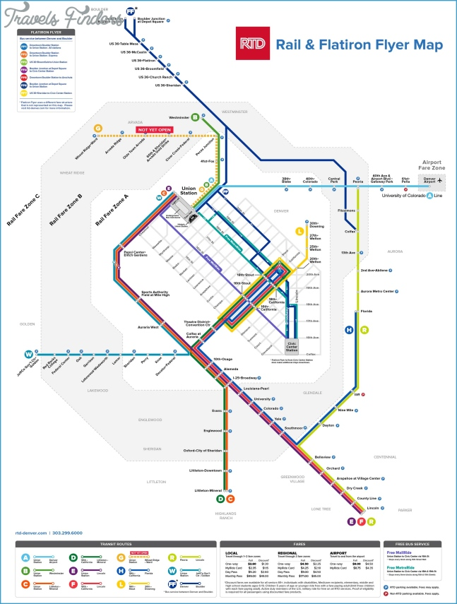 RTD | Light Rail System Map