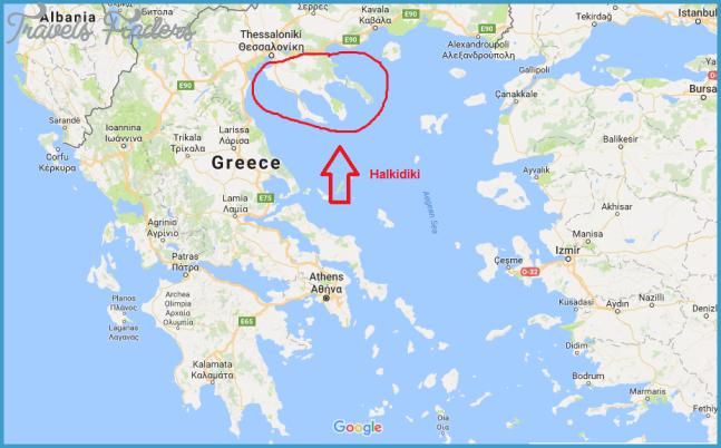 Where is Halkidiki? | Map of Halkidiki | Travel to Halkidiki ...