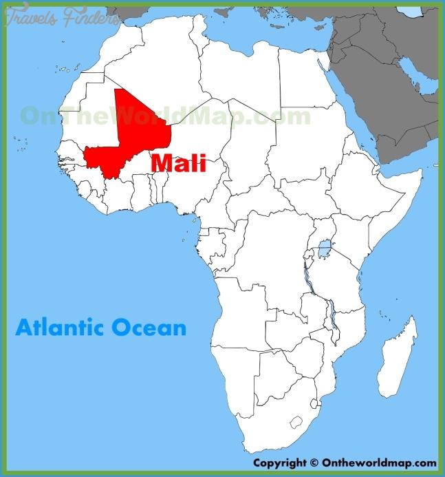Mali Maps | Maps of Mali