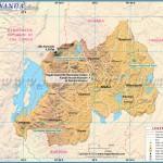 Rwanda Map, Map of Rwanda