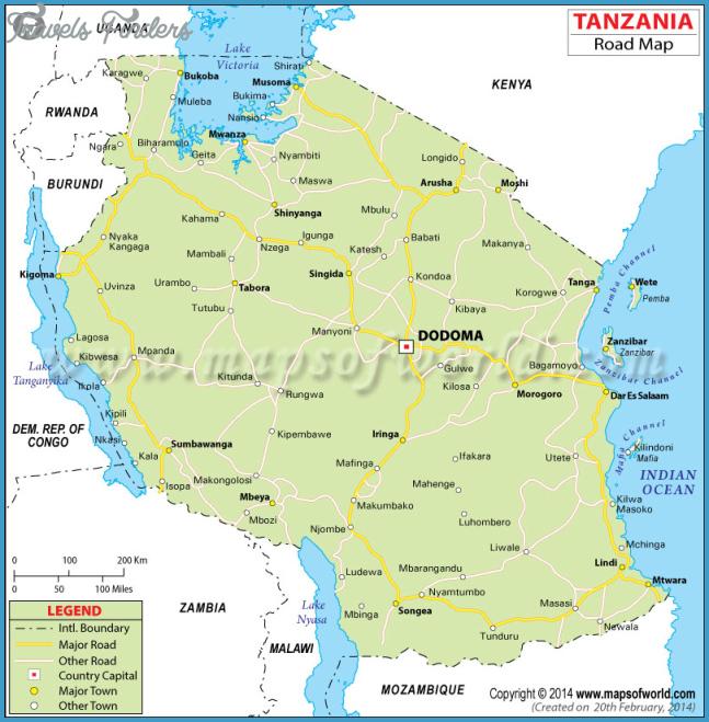 Tanzania Road Map