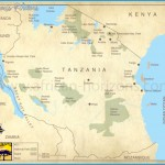 Map of Tanzania | East African Holiday Safari Travel & Tours