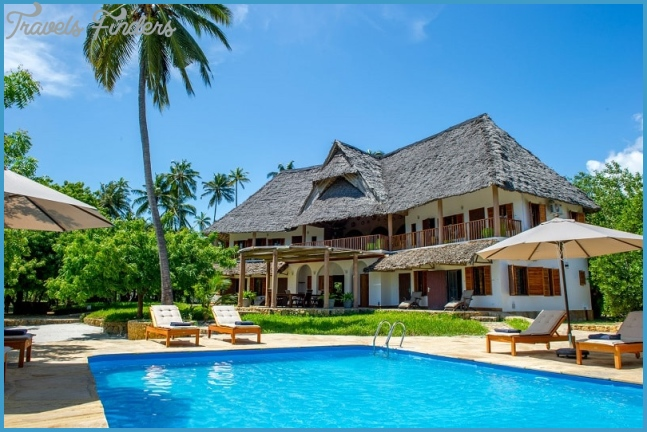 The Mawimbi Villa In Tanzania Is A Top-Tier Vacation Destination