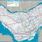 Montreal STM Street, Metro and Bus Map - Maplets