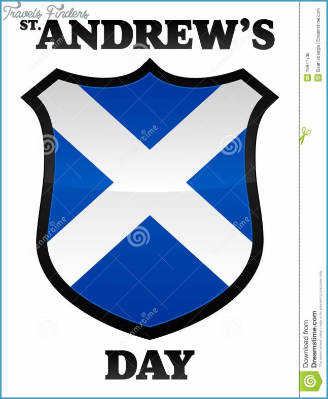 St Andrew's Day stock vector. Illustration of andrews - 16947735