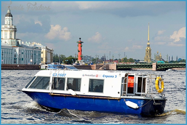 River cruises and boat trips in St. Petersburg, Russia