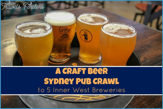 Craft Beer Sydney Pub Crawl: Inner West Breweries