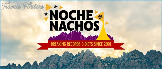 Noche de Nachos - Nearly  Of Nachos To Be Constructed In