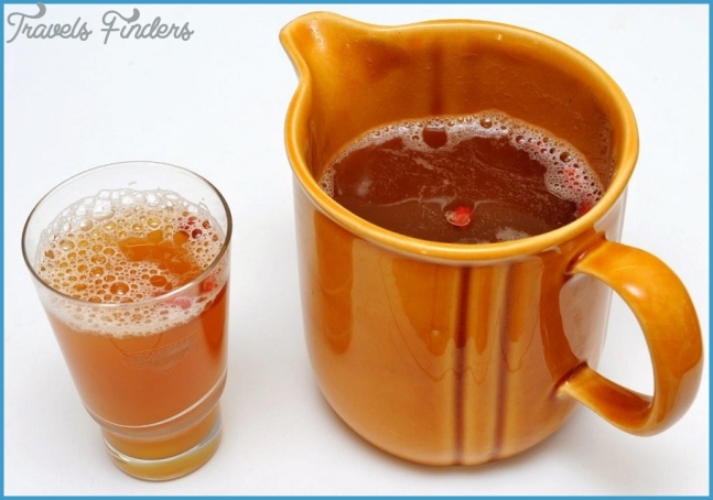 Kvass - the most well-known Russian national drink