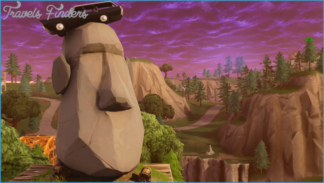 Fortnite Locations: Where Are The Different Stone Heads To Visit
