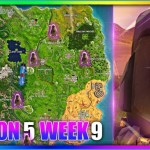 """Visit Different Stone Heads"""" Fortnite WeekALL Location's Guide"""