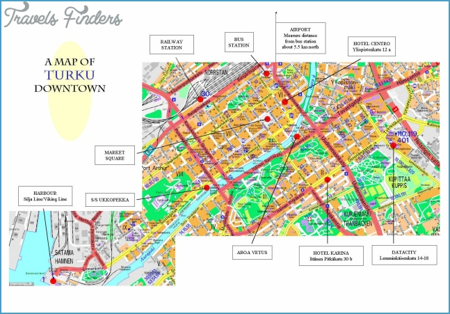 Large Turku Maps for Free Download and Print