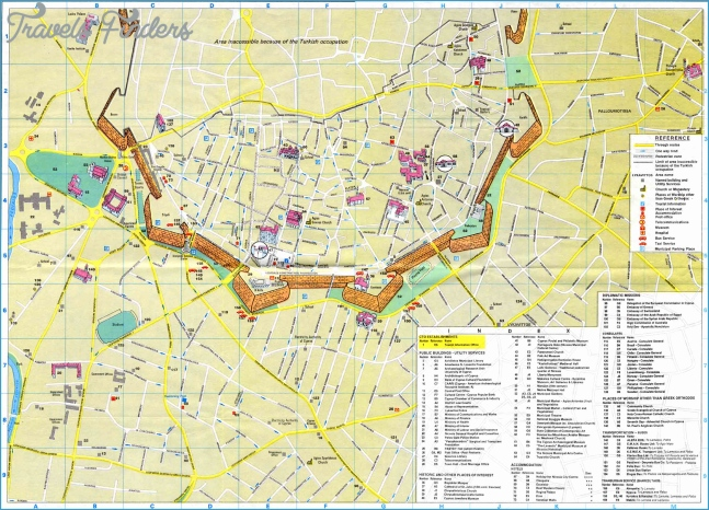 Large Nicosia Maps for Free Download and Print