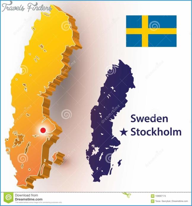 Sweden stock vector. Illustration of effect, label, outline