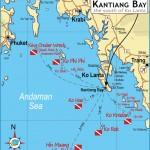 Maps of Kantiang Bay and Local AreaKantiang Bay