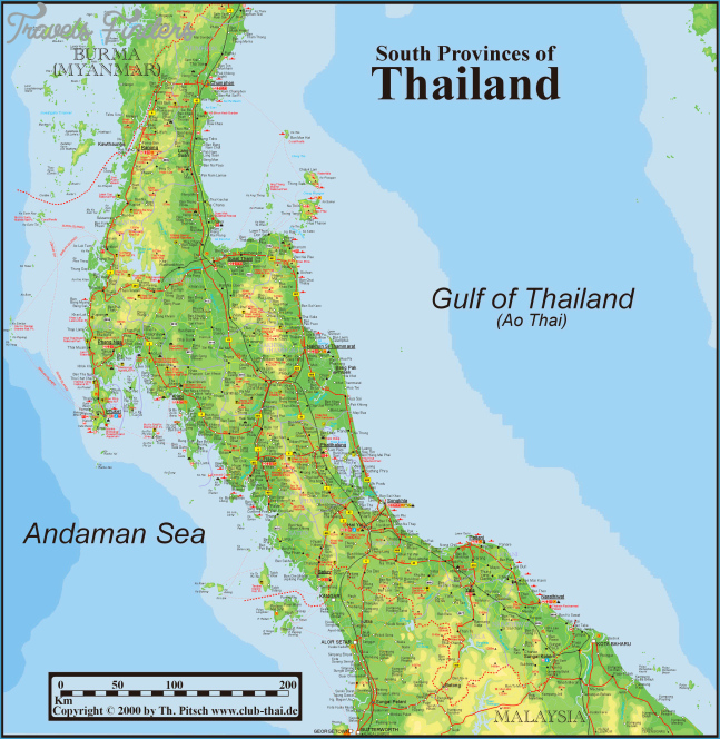 Phuket Maps, Patong, Kata, Karon, Kamala, Phuket Town, Rawai
