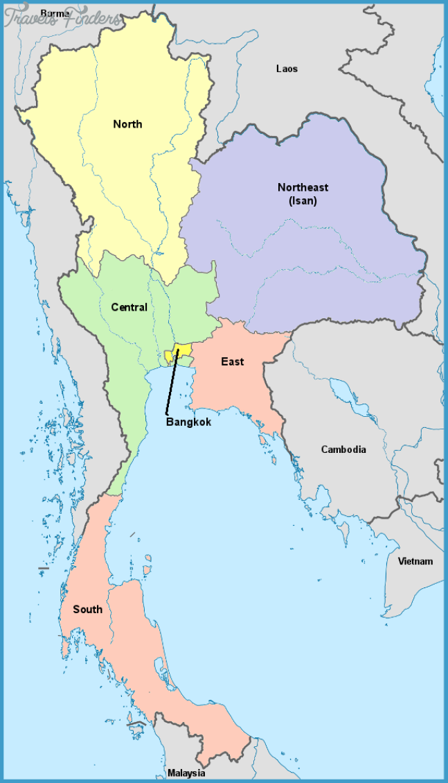 Thailand's Regions - Thailand For Visitors