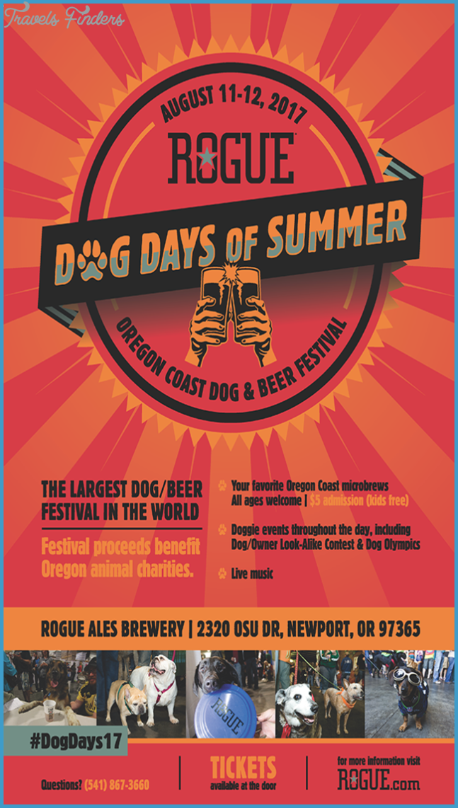 Rogue Ales Presents Dog Days of Summer – Oregon Coast Dog & Beer