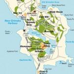 tresco island isles of scilly uk map of tresco island1