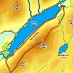map of wast water swimming and camping review of wast water3