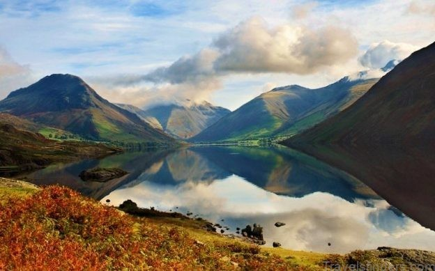 map of wast water swimming and camping review of wast water4