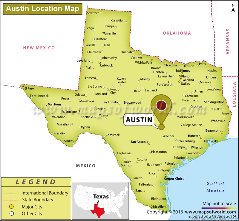 map of austin free download 2