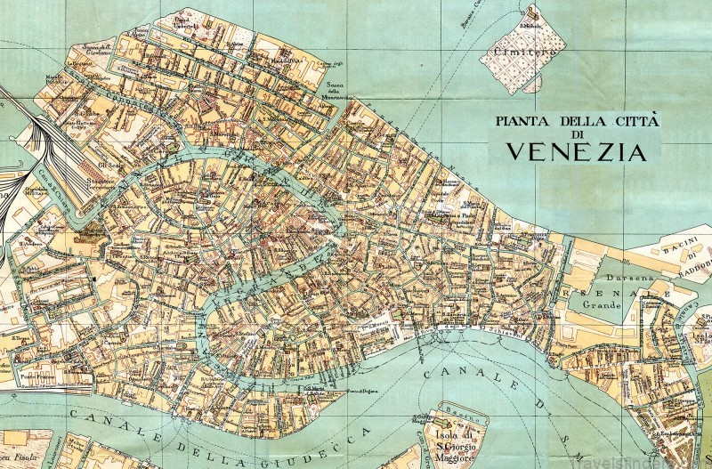 map of venice free download