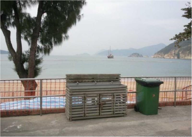 Chung Hom Kok Beach  Map The Best Beach in Hong Kong China