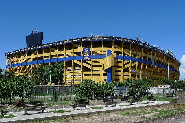 Argentina - Buenos Aires, La Boca - La Bombonera | Estadio de futbol, Boca juniors, Buenos aires
