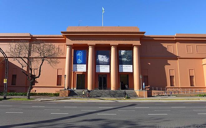 Museo Nacional de Bellas Artes. Art Destination Buenos Aires