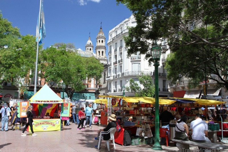 Plaza Dorrego, San Telmo, Buenos Aires, Argentina – Notes from Camelid Country