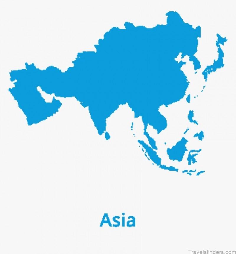 Shape Of Asia Continent, HD Png Download , Transparent Png Image - PNGitem