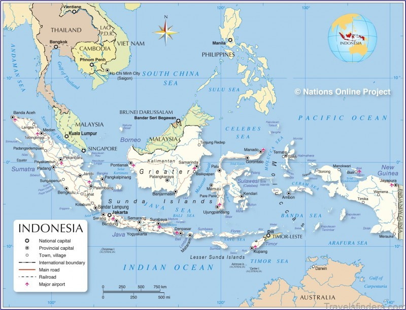 map of java island indonesia