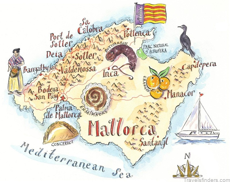 map of mallorca park hyatt reviews where to stay in mallorca 1