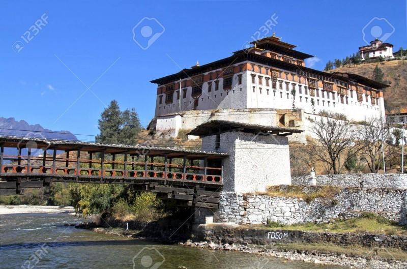 map of paro rinpung dzong paro 8