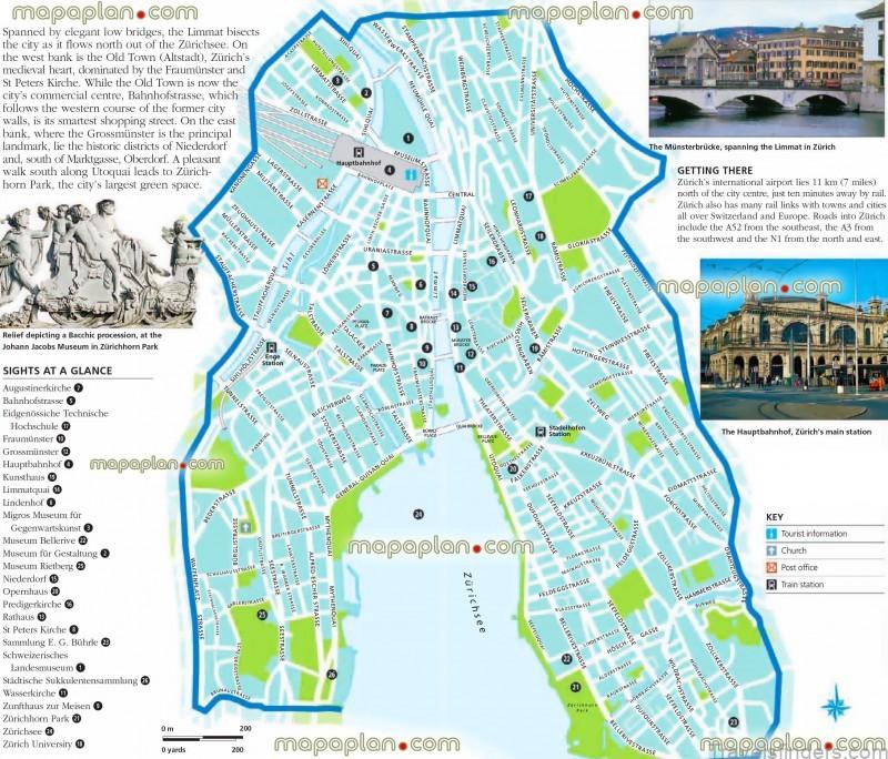 map of zurich where to stay in zurich 5